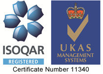 Alcumus ISOQAR offers certification to ISO standards and British standards.